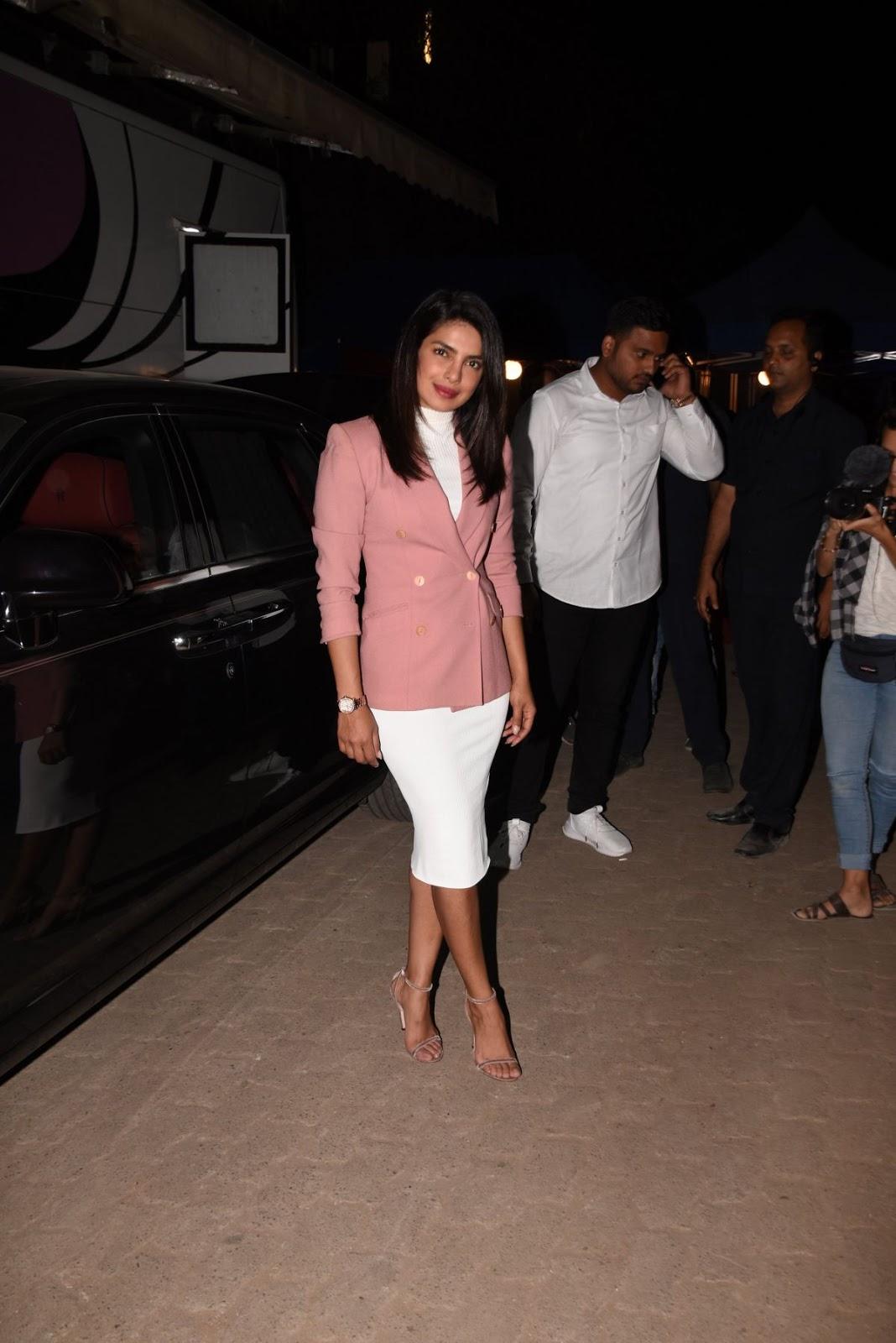 Priyanka Chopra - Night Out in Mumbai - 03/10/2019