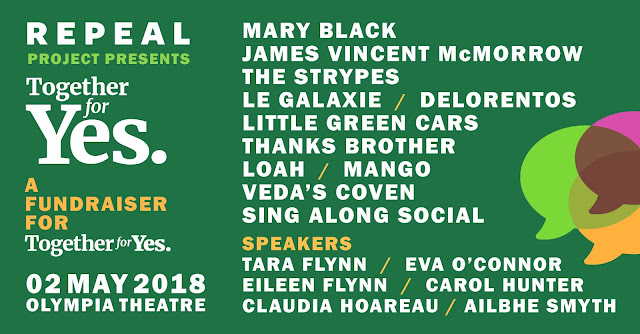 Together For Yes Repeal the 8th Olympia Mary Black James Vincent McMorrow Le Galaxie