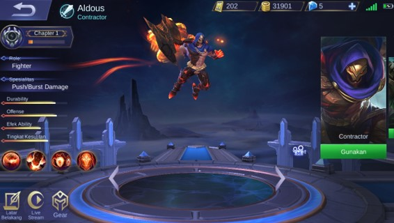Aldouse Hero Mobile Legends Overpowered