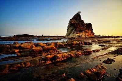 Sunset @ Tanjung Layar - Desa Sawarna