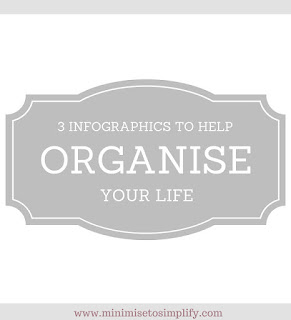 3 infographics to help organise your life