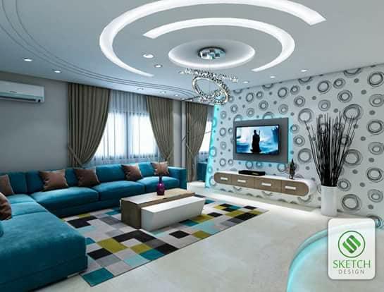 %2BCNC%2BFalse%2BCeiling%2BDesigns%2BIdeas%2B%2B%252822%2529 22 Contemporary Modern CNC False Gypsum Ceiling Decorating Ideas Interior