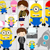 Despicable Me and the Minions Clip Art.