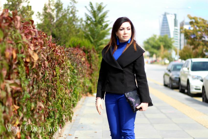alışveriş-Vintage Ceket ve Taşlı Stiletto-moda blogu-fashion blogger
