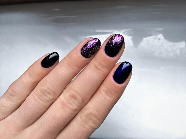 karnawałowy manicure