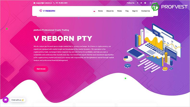 V-Reborn обзор и отзывы HYIP-проекта