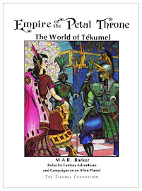 BACK IN PRINT! Empire of the Petal Throne - 1975 TSR Edition!
