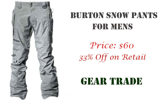 Review of One of the Best Burton Snowboard Pants for Men