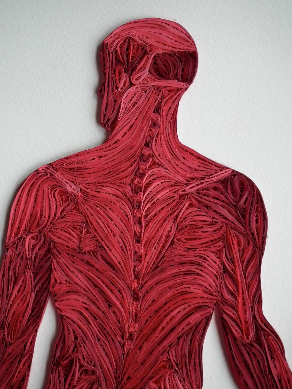 Yakawonis: Quilled Full Figure Muscle Structure