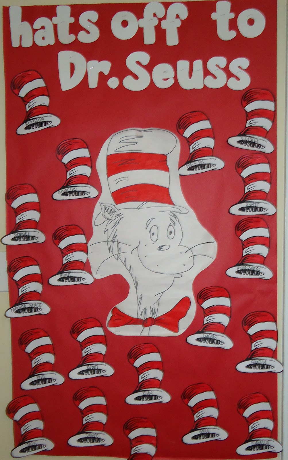 little illuminations: Dr. Seuss Bulletin Boards