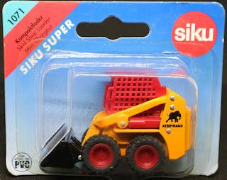 Siku - 1071 Kompaktlader, 吸塑包裝