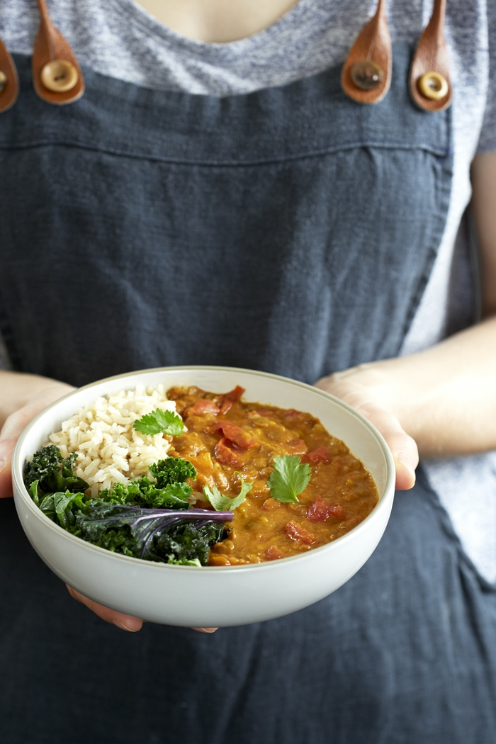 Three-Tin Tomato, Turmeric & Coconut Dahl - National Vegetarian Week
