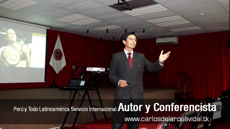 Carlos De La Rosa Vidal Speaker Life Conferencista