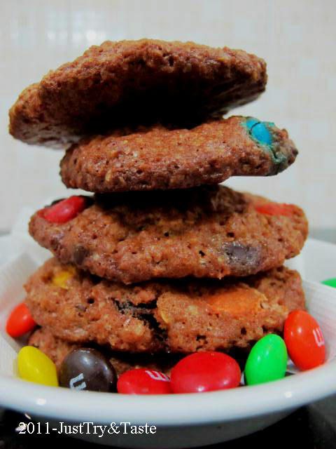 Resep Monster Cookies JTT