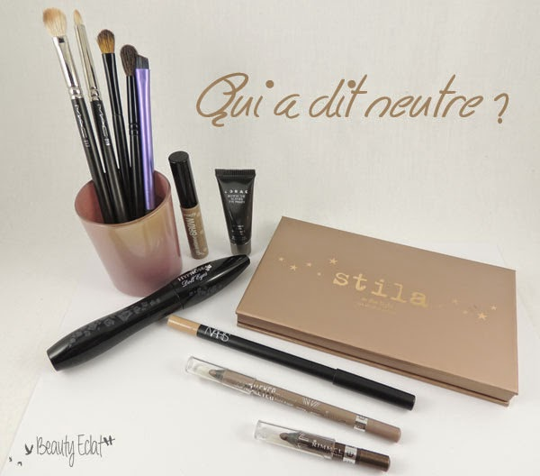 tutoriel maquillage leger smoky marron doré