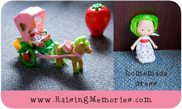 Restoring Vintage Strawberry Shortcake Toys