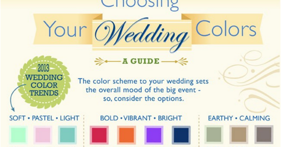 Choosing Your Wedding Colors | The Ultimate Guide!