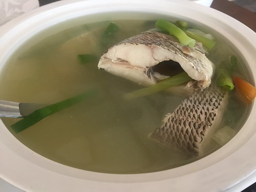 Fish tinola in Bantayan Island