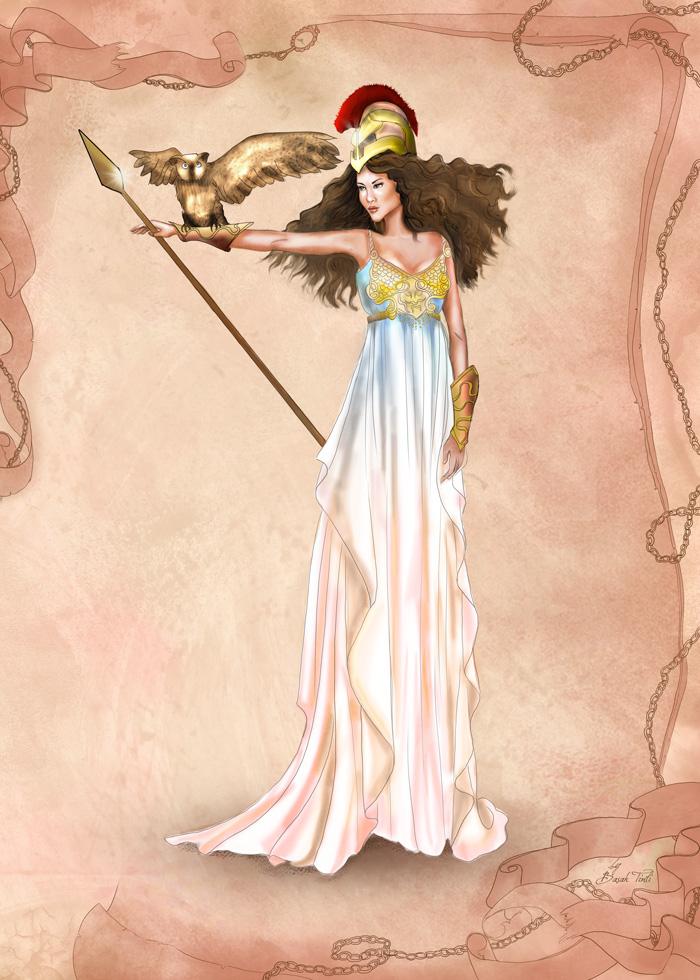 Athena Greek Goddess | God u Love