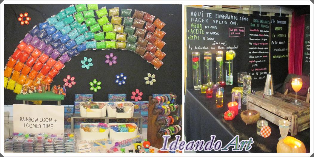 Ideandoart feria diy show en madrid - Feria decoracion madrid ...
