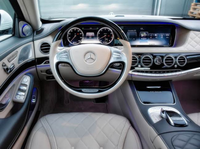 2017 Mercedes Benz Maybach S600 Sedan