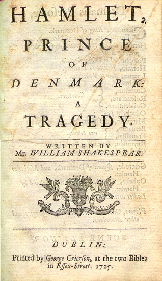An analysis of the prince of denmark in hamlet a play by william shakespeare