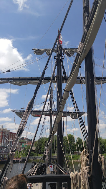 The Pinta rigging