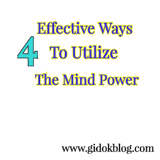 Utilizing the Mind Power for self improvement