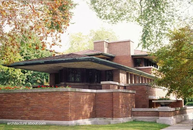 Frederic C. Robie House en Chicago, Illinois, Estados Unidos