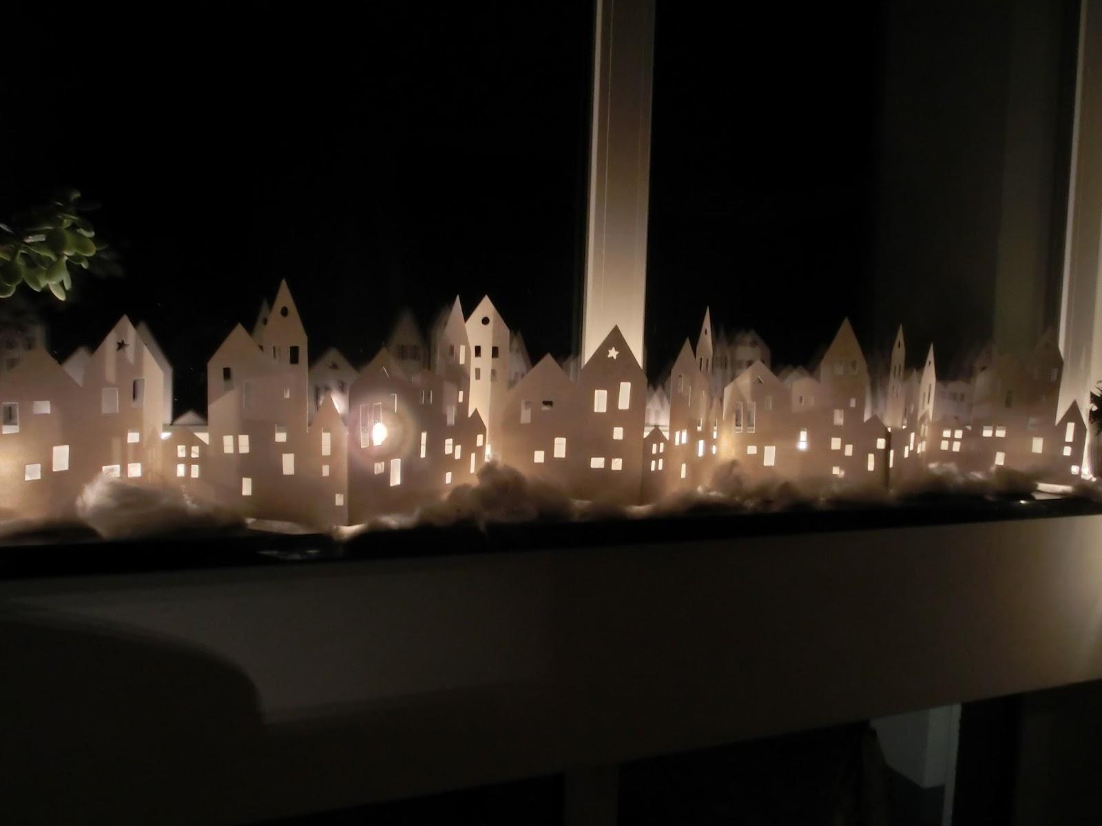 hobby kreativ welt meine beleuchtete stadt auf der. Black Bedroom Furniture Sets. Home Design Ideas