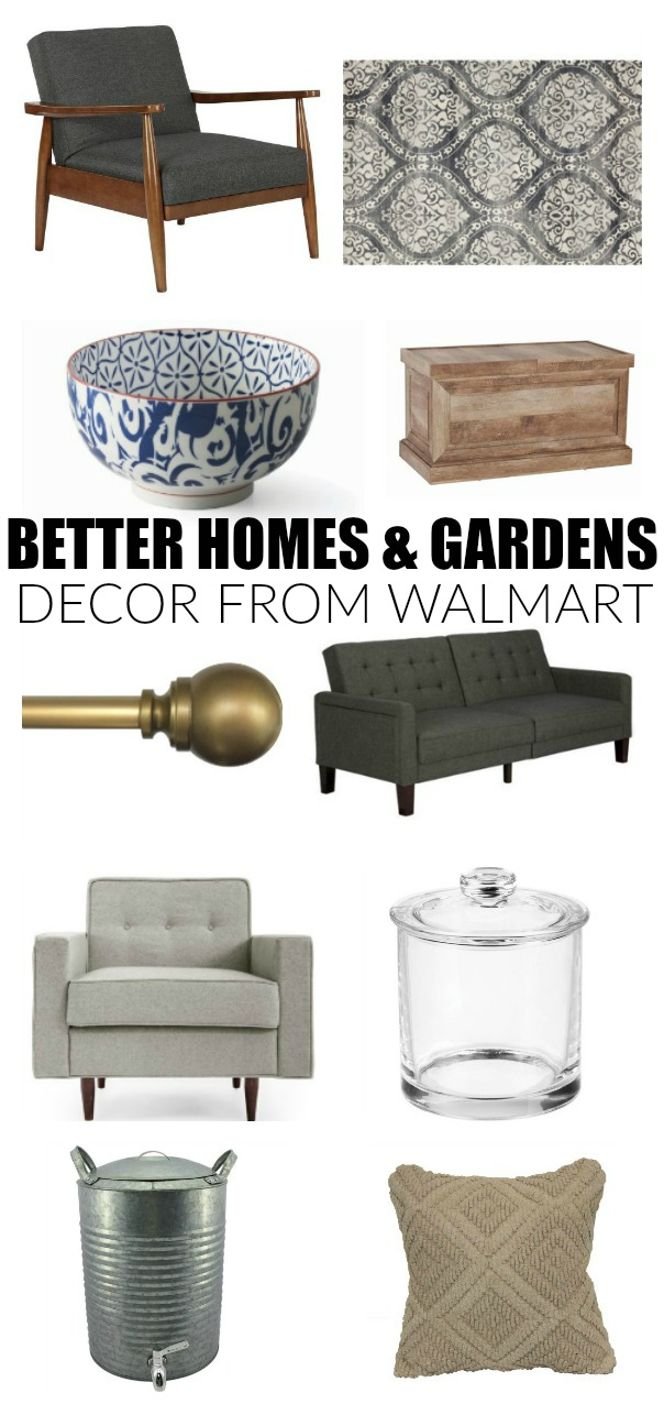 Stylish home decor from Better Homes and Gardens