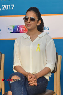 Actress Rakul Preet Singh at Endometriosis Awareness Walk at Apollo Cradle  0065.jpg