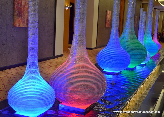 Al Raha Beach Hotel lighting