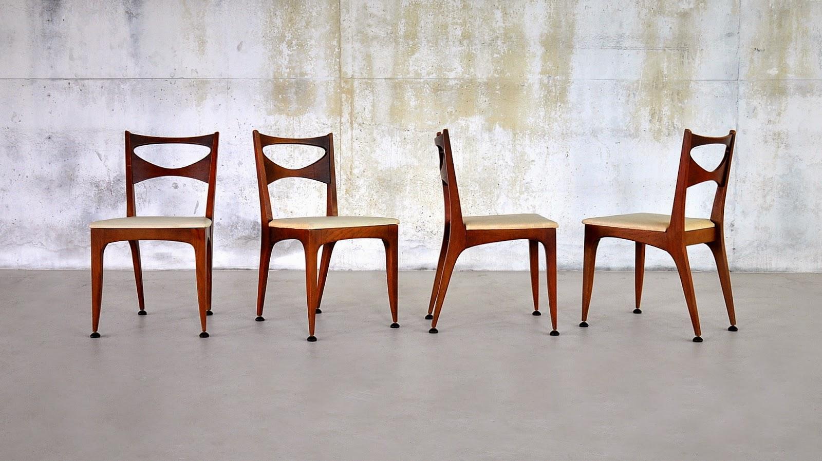 Set Of John Van Koert Dining Chairs