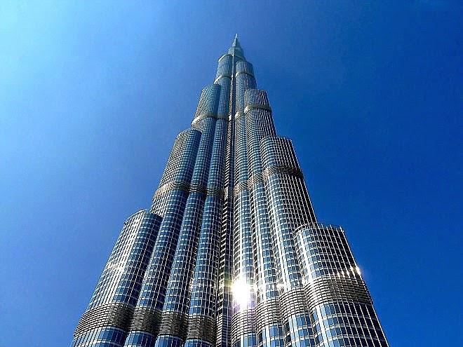 Art Now and Then Burj Khalifa