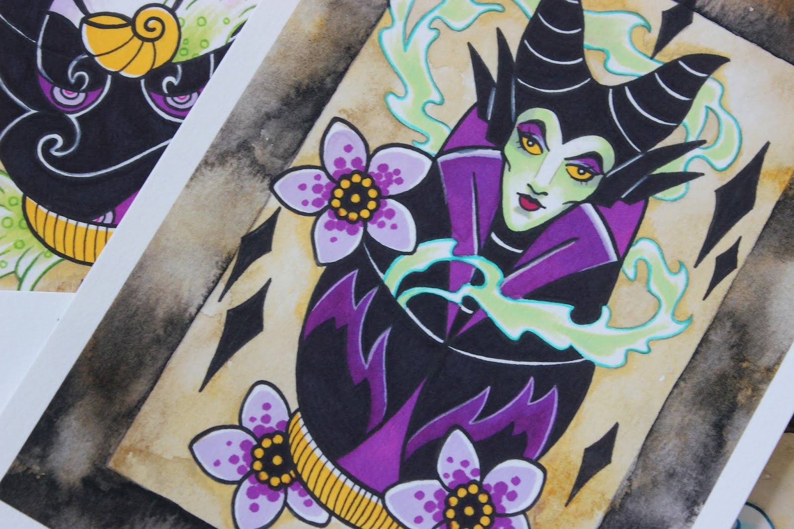 A picture of Disney Villain Maleficent by Vicky Morgan
