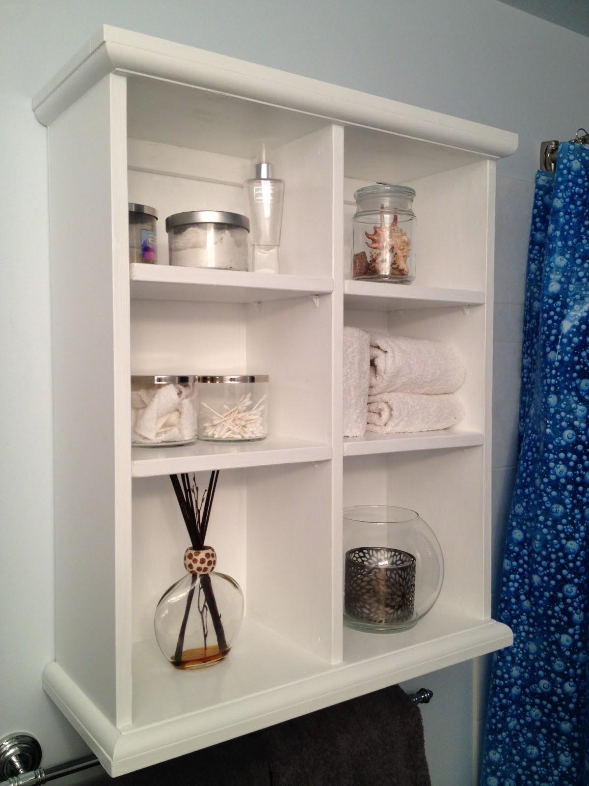 Artsybuildinglady: Bathroom Wall Storage
