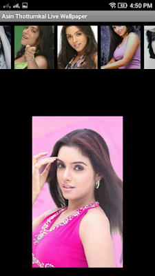 Asin Thottumkal 3D live Wallpaper For Android Mobile Phone