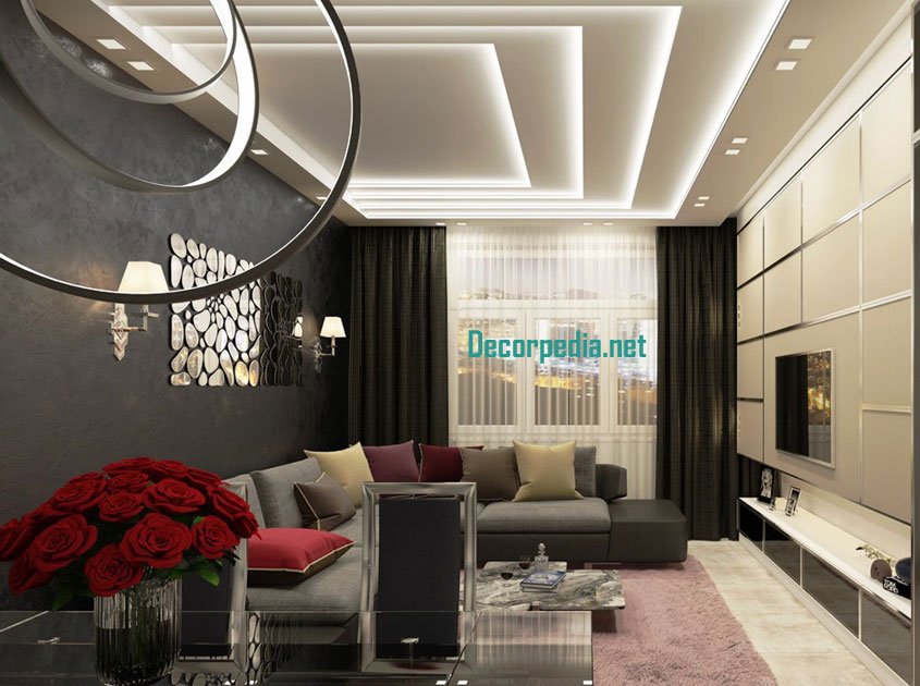 . Latest pop false ceiling design ideas for living room and hall 2019
