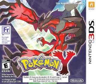 Pokemon Y version Cover