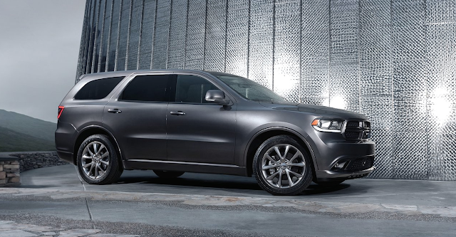 2016 Dodge Durango grey