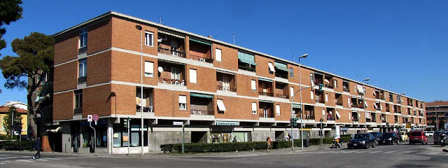 Apartment buildings in via Macchiavelli, La Rosa, Livorno