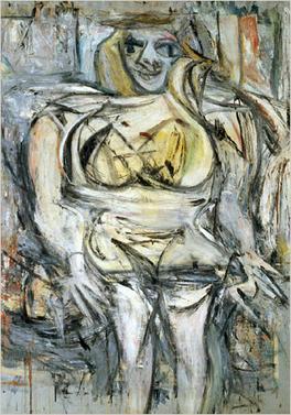 World's ten most expensive paintings/Woman III, Willem de Kooning