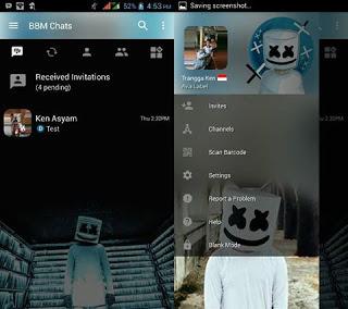 BBM Mod Tema Marshmellow v3.3.1.24 Full DP