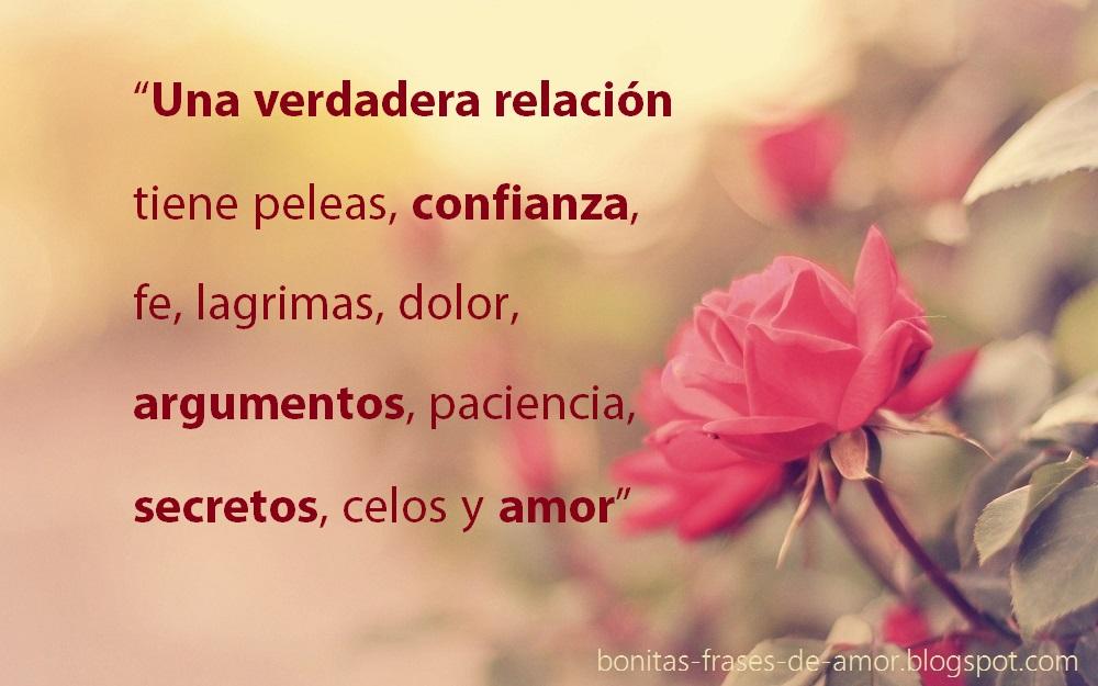 Bonitas Frases De Amor Una Verdadera Relacion Tiene Peleas
