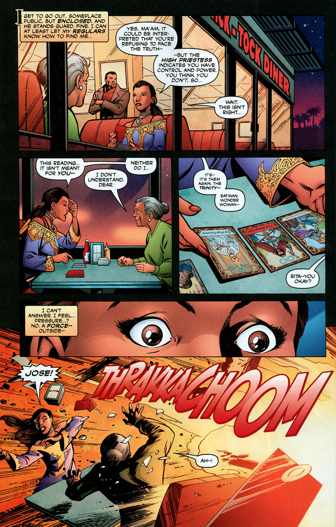 Read online Trinity (2008) comic -  Issue #5 - 23