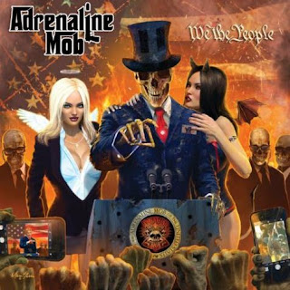 "Το lyric video των Adrenaline Mob για το τραγούδι ""Chasing Dragons"" από το album ""We the People"""