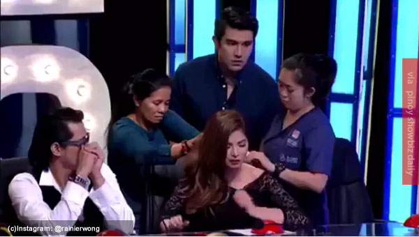 Luis Manzano asks Angel Locsin if she's in pain