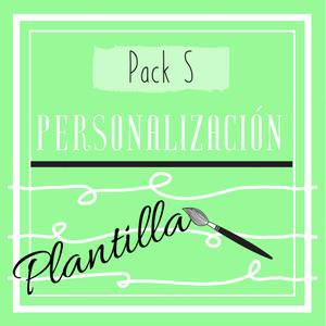Cartel Pack S (personalización de plantillas)