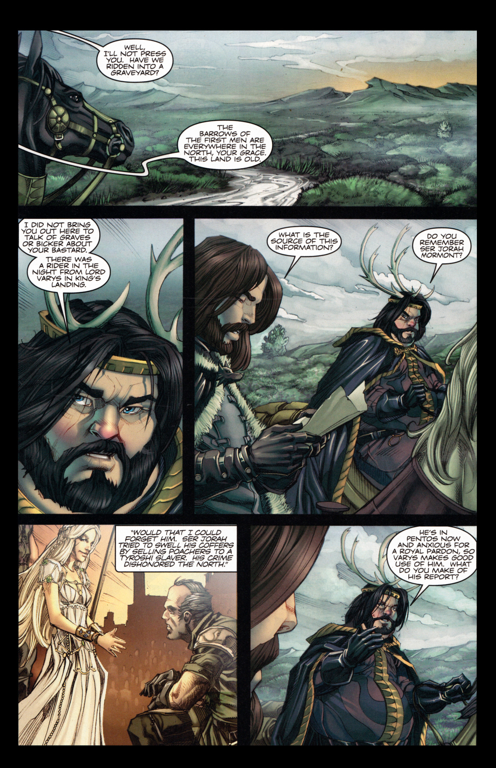 Read online A Game Of Thrones comic -  Issue #4 - 11